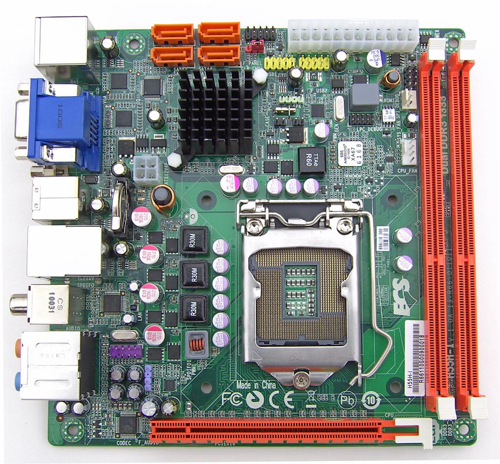 ECS H55H-I Review: Mini-ITX at a Sensible Price