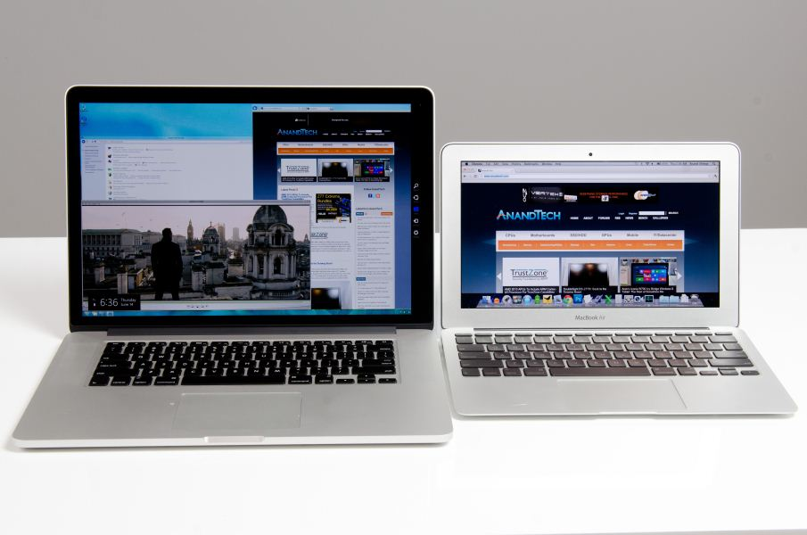 Windows 8 Release Preview - MacBook Pro Retina Display