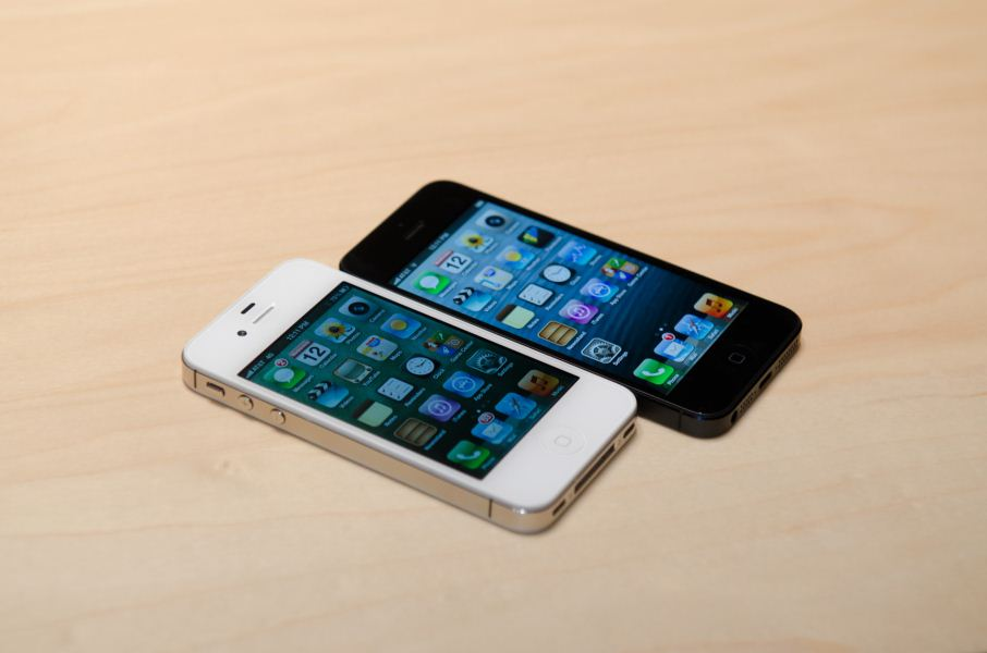 Размер айфона 4 5