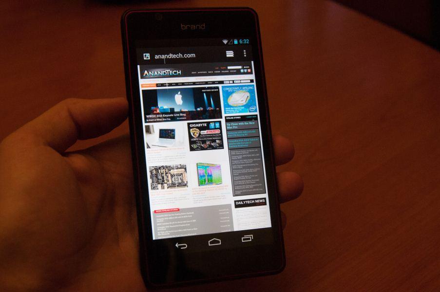 tegra 4i, Un smartphone équipé d'une puce NVIDIA 4i nous livre ses secrets