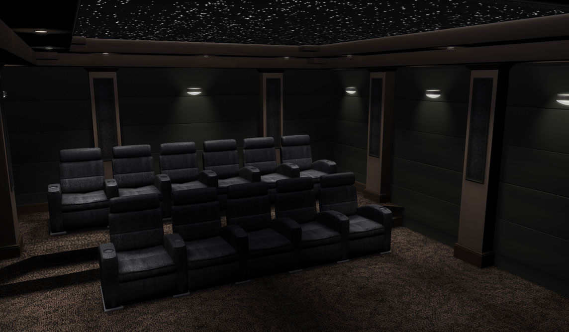 Diy home theater stage