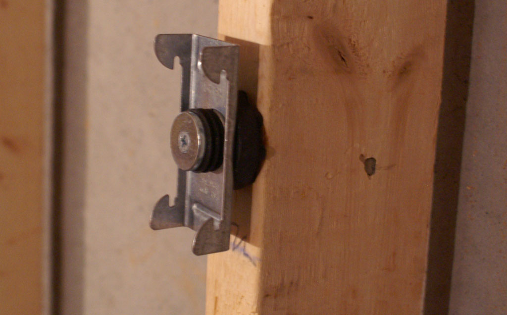 Drywall Mounting Clips : Theater hush little baby soundproofing the room part i