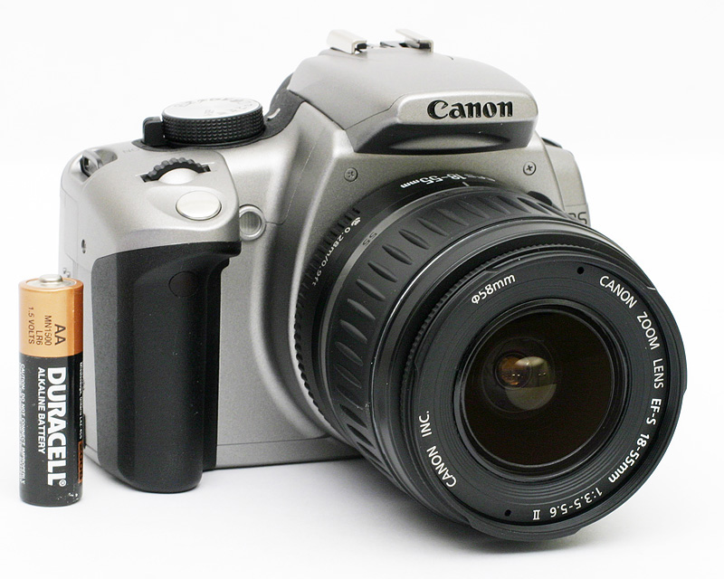 Canon Digital Rebel XT: Hardly an Entry-Level DSLR