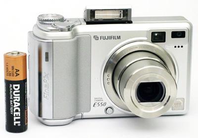 fujifilm finepix e550 fuji s newest packs a punch rh anandtech com FinePix F31fd FinePix E510