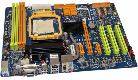 Biostar GF8200E Nvidia VGA 64x