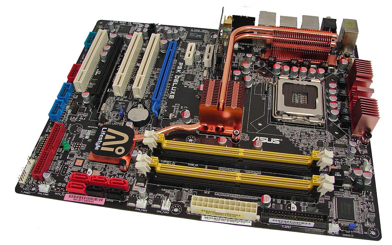Asus P5k  U0026 P5k3 Deluxe Features