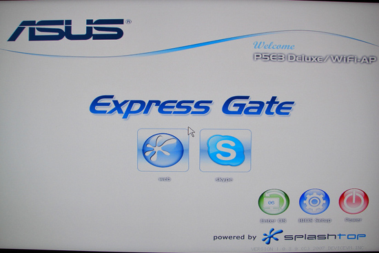 Asus Express Gate Drivers PC