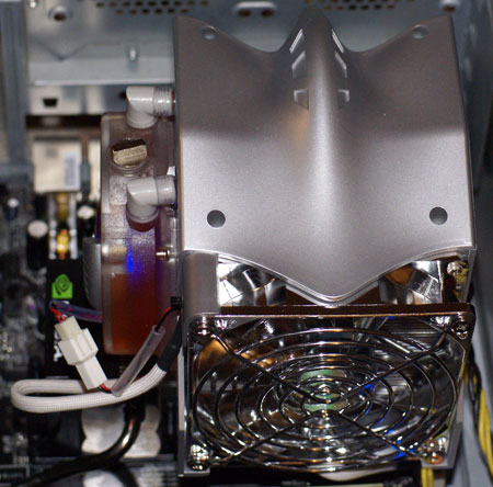 Self-Contained Water Coolers: Xigmatek AIO vs  Evercool