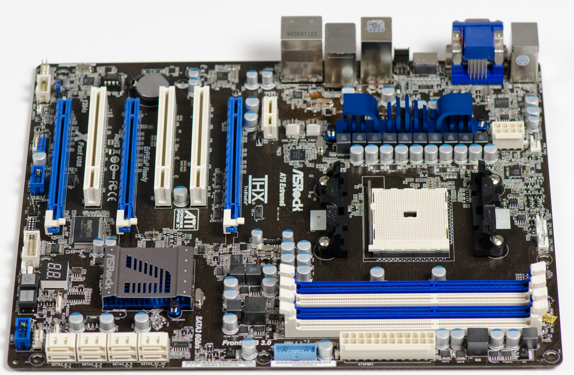 Asrock A75 Extreme6 AMD Fusion Media Last