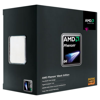 Amd hd995zxaghbox phenom x4 9950 black edition quad-core processor.