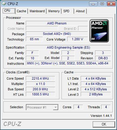 The first B3 Stepping Phenom - AMD's B3 Stepping Phenom