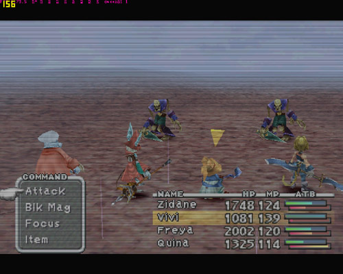 Final Fantasy IX Performance - Frame Buffer Effects