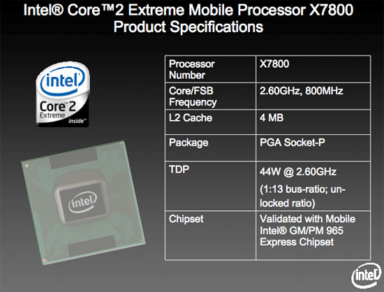 Extremely, Mobile? - Intel Core 2 Extreme QX6850 and Massive Price Cuts