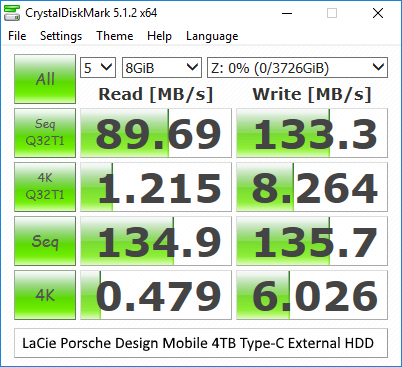 Performance Benchmarks - Western Digital My Book 8TB and My