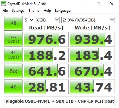 Plugable USBC-NVME Tool-Less NVMe SSD Enclosure Capsule Review
