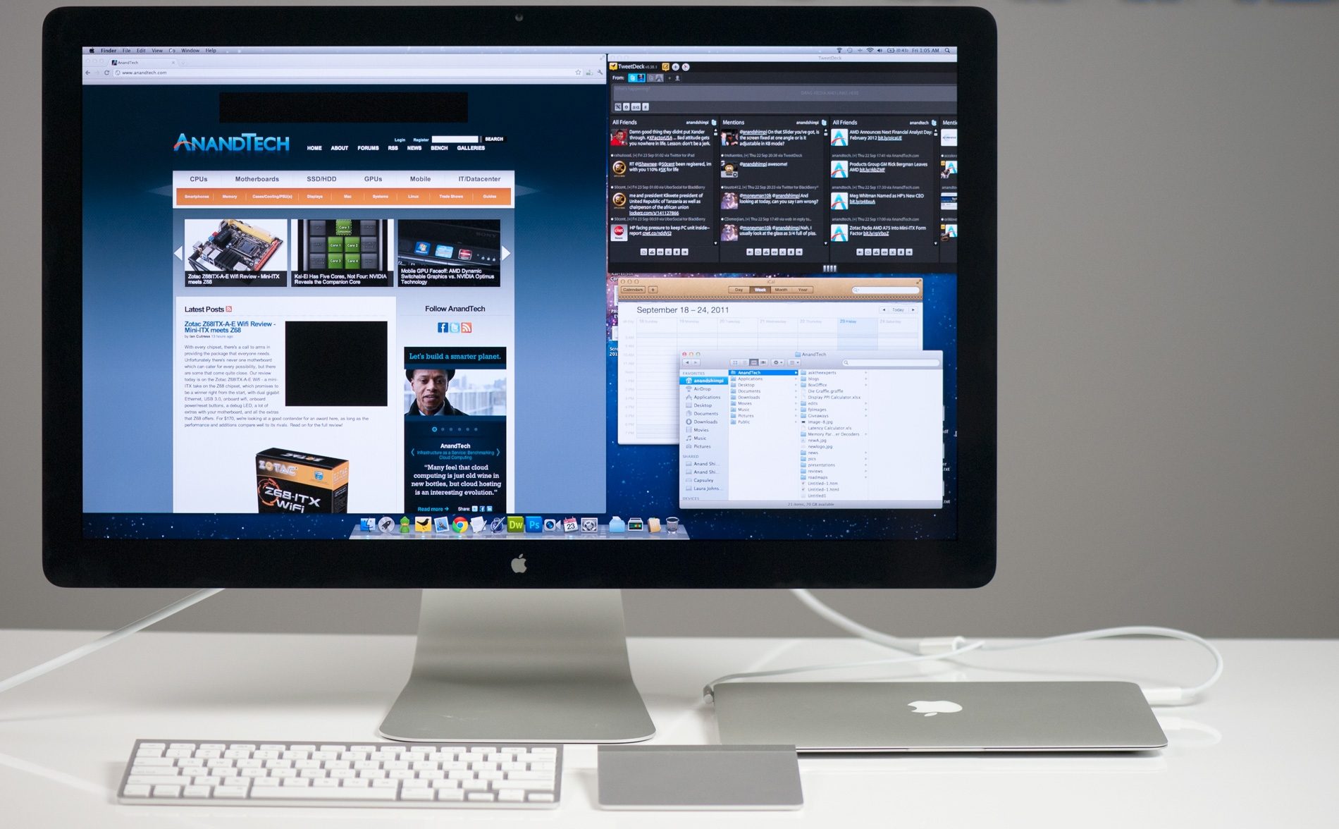 The Apple Thunderbolt Display Review