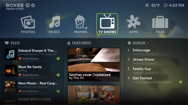 Home Simplified Home - The Boxee Box Review
