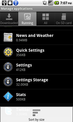 Settings & UI Tweaks - A Taste of Froyo: Google Android 2 2 Explored