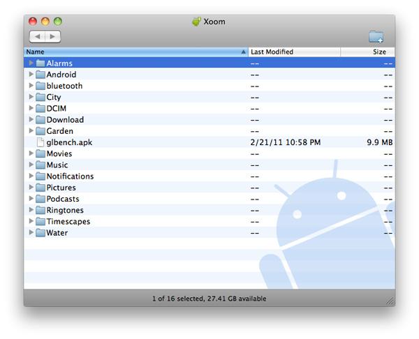 Transferring Content, Music & Video Playback - Motorola Xoom