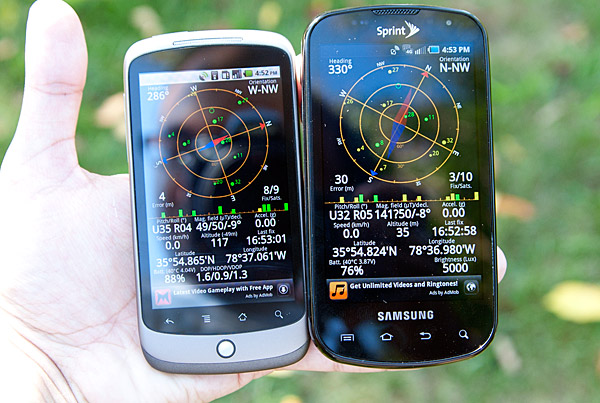 GPS Issues - Samsung Epic 4G Review: The Fastest Android Phone