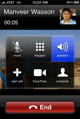 FaceTime - Apple's iPhone 4: Thoroughly Reviewed