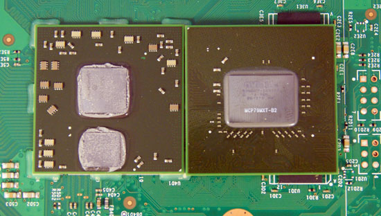 Jasper dissection jasper is here a look at the new xbox 360 xbox 360 xenos gpu left vs nvidia geforce 9400m right ccuart Image collections