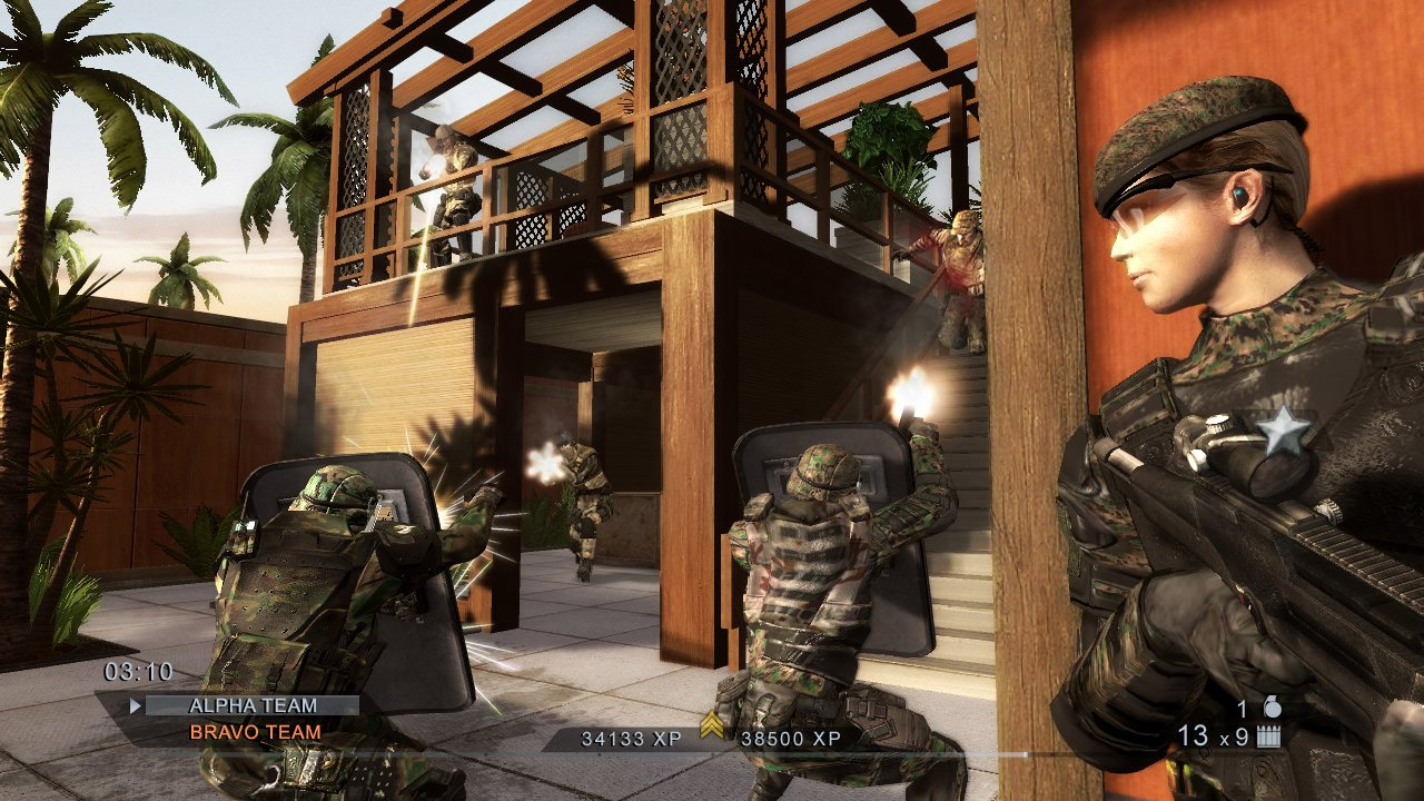 multiplayer - rainbow six vegas 2: xbox 360 review