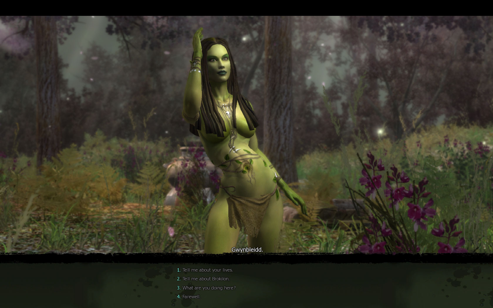 The witcher dryad nude video