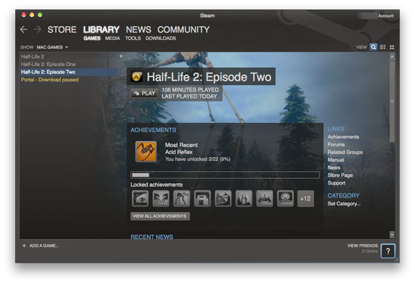 Half-Life 2: Episode Two For Mac