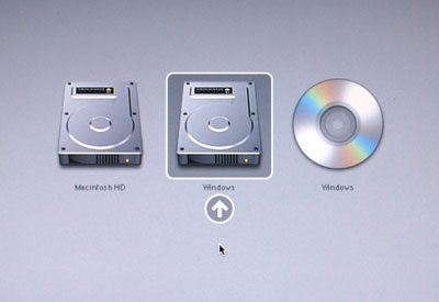 how to change boot options in macbook