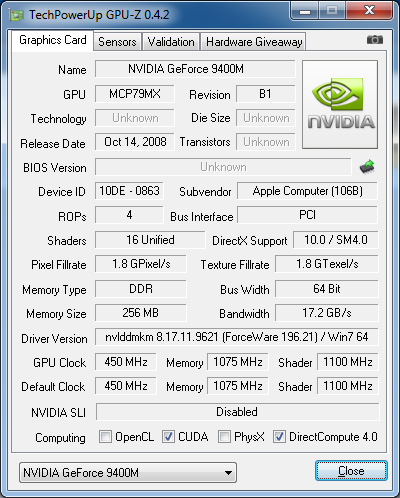 Download and install nvidia nvidia geforce gt 330m driver id 1727977.