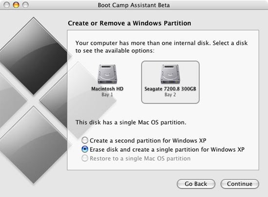 Installing Windows XP, the Right Way - Apple's Mac Pro