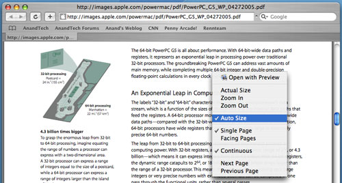 opening pdf in preview mac