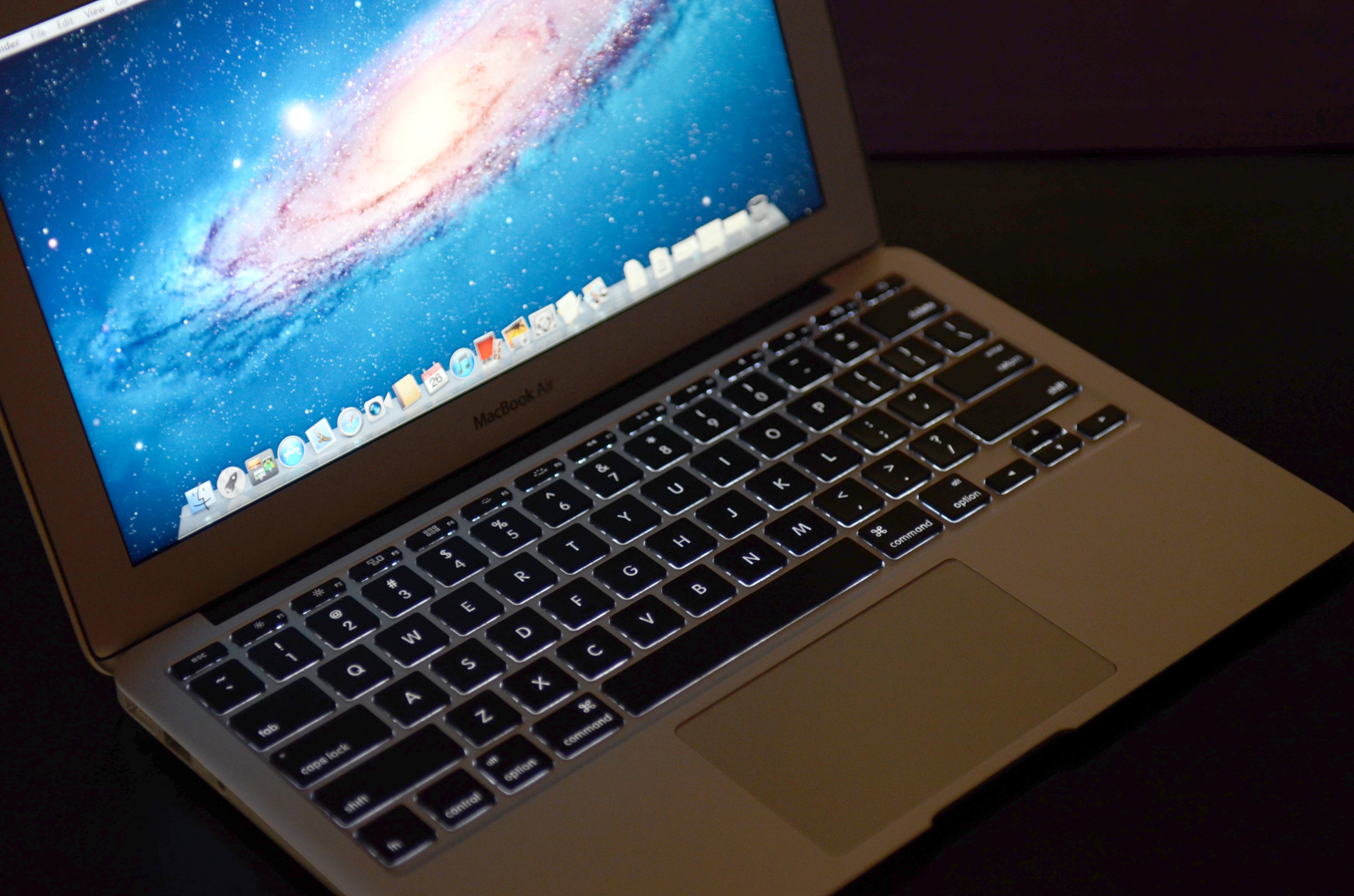 It's Back: The Backlit Keyboard - The 2011 MacBook Air (11