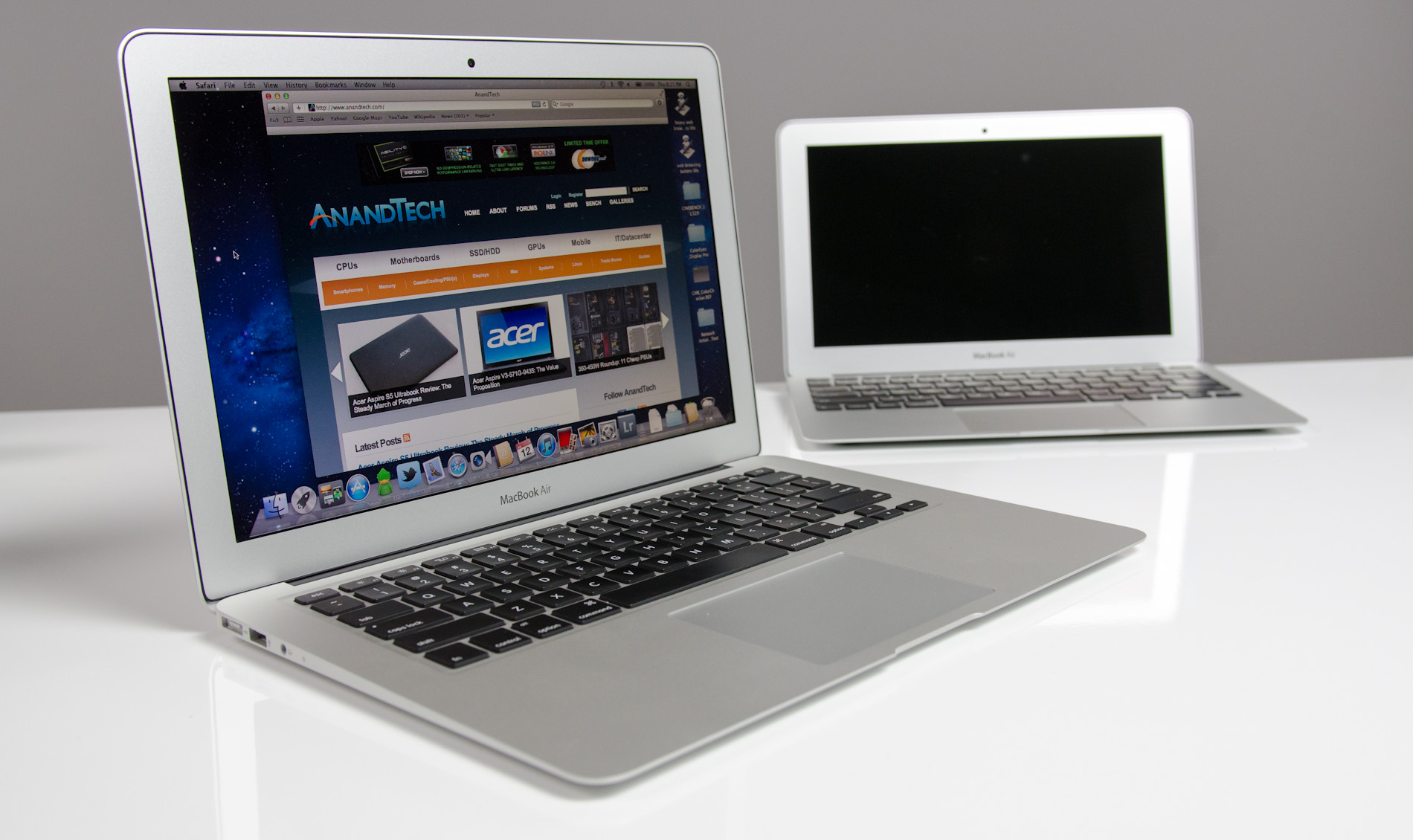 The 2012 MacBook Air (11 & 13-inch) Review