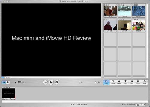 The Mac mini as a Video Editor - The Mac mini as a Media Computer