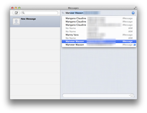 Messages, AirPlay Mirroring, QuickSync, Server & Older
