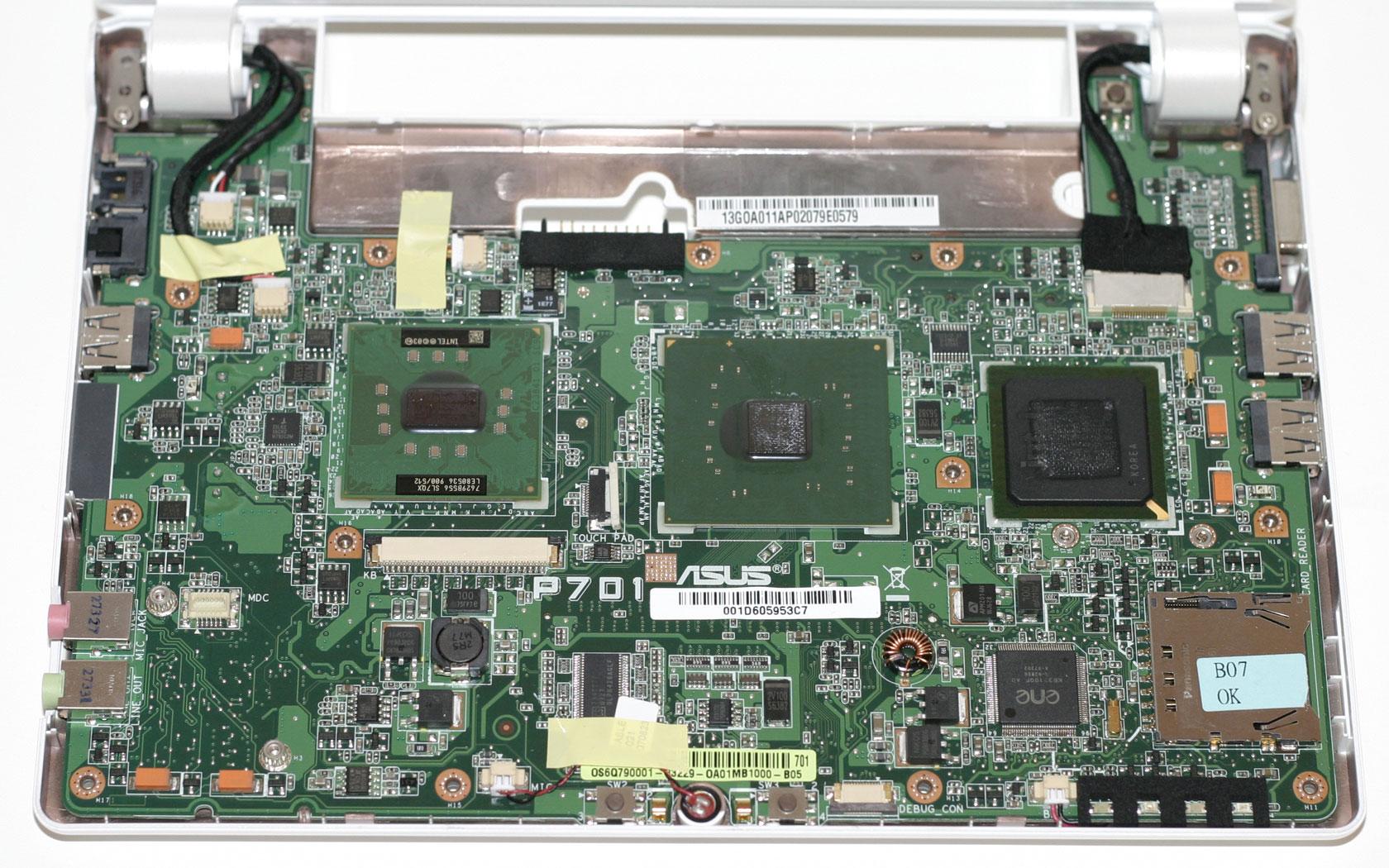 ASUS Eee PC 4G/XP (Eee PC 4G - X) drivers