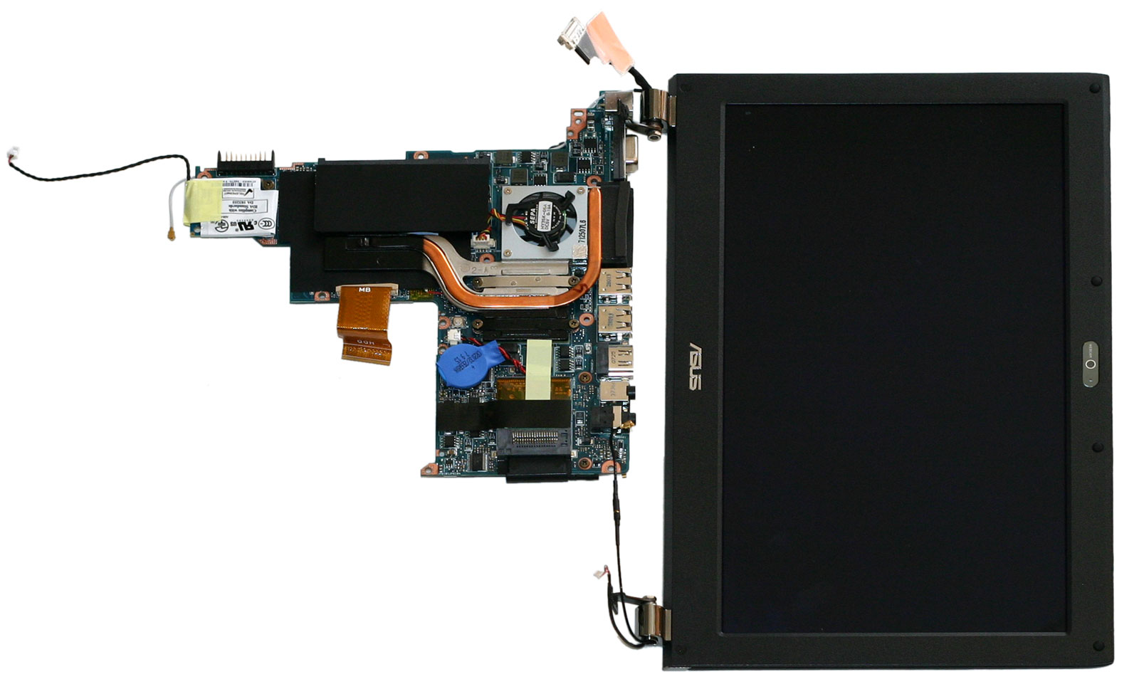 Asus U E Dissect Mobobottom Screen