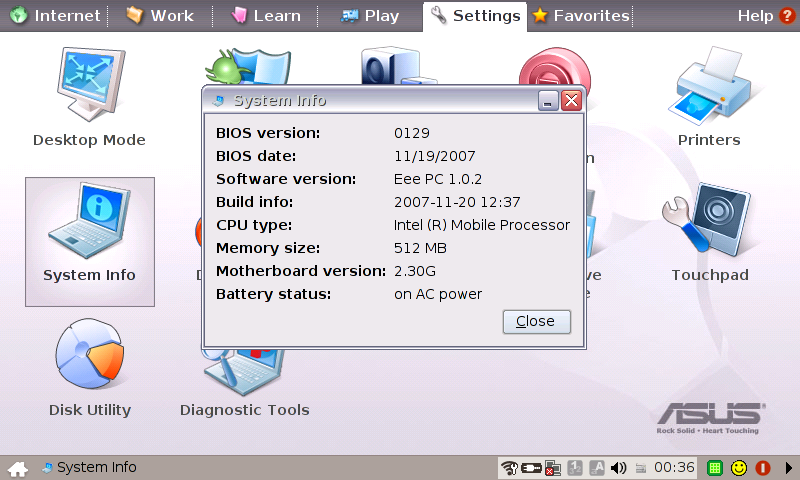 EEE PC 2G SURF AUDIO DRIVERS FOR WINDOWS DOWNLOAD