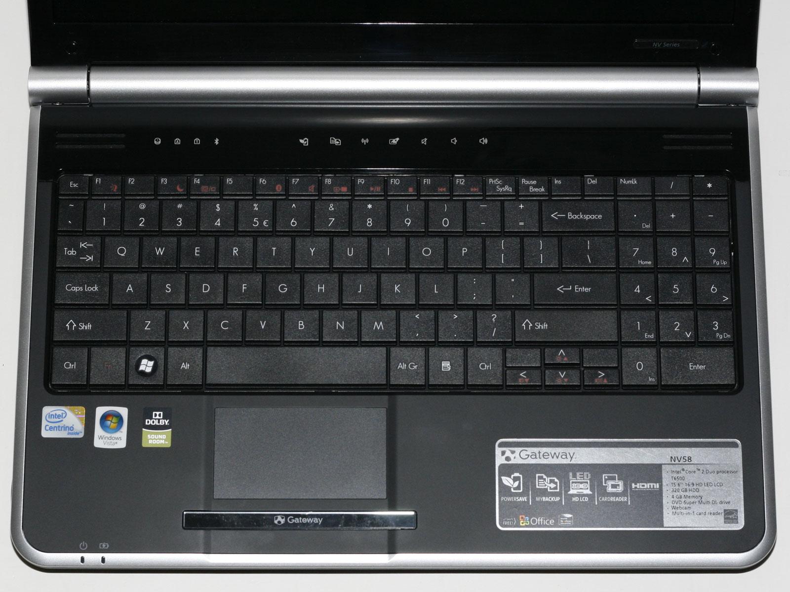 Gateway NV58 Drivers for Mac