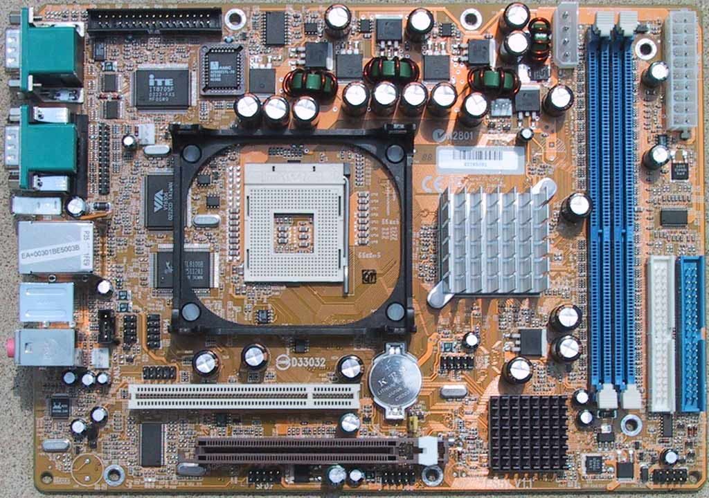 The Motherboard Shuttle S Fs51 Shuttle Ss51 Xpc A