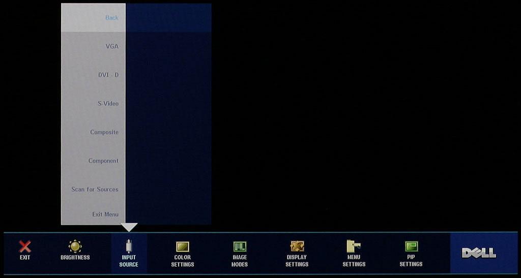 Dell 2407wfp card reader