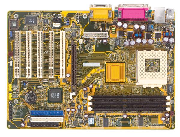 DFI KT-600-AL pcb A 64 Bit