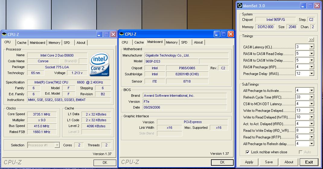4GB DDR2-800 PC2-6400 Memory RAM Upgrade for The Gigabyte GA-965 Series GA-965P-DS3