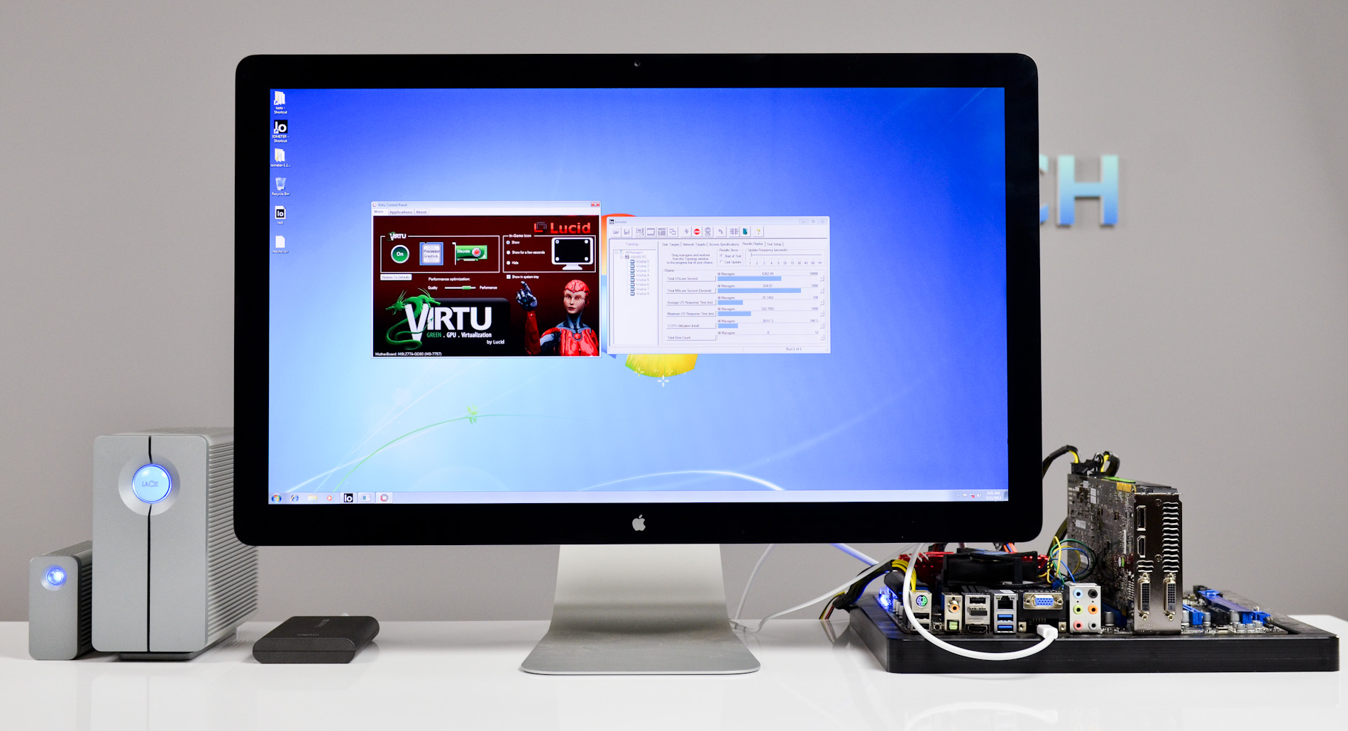 The Thunderbolt Display Amp Virtu Support A First Look At