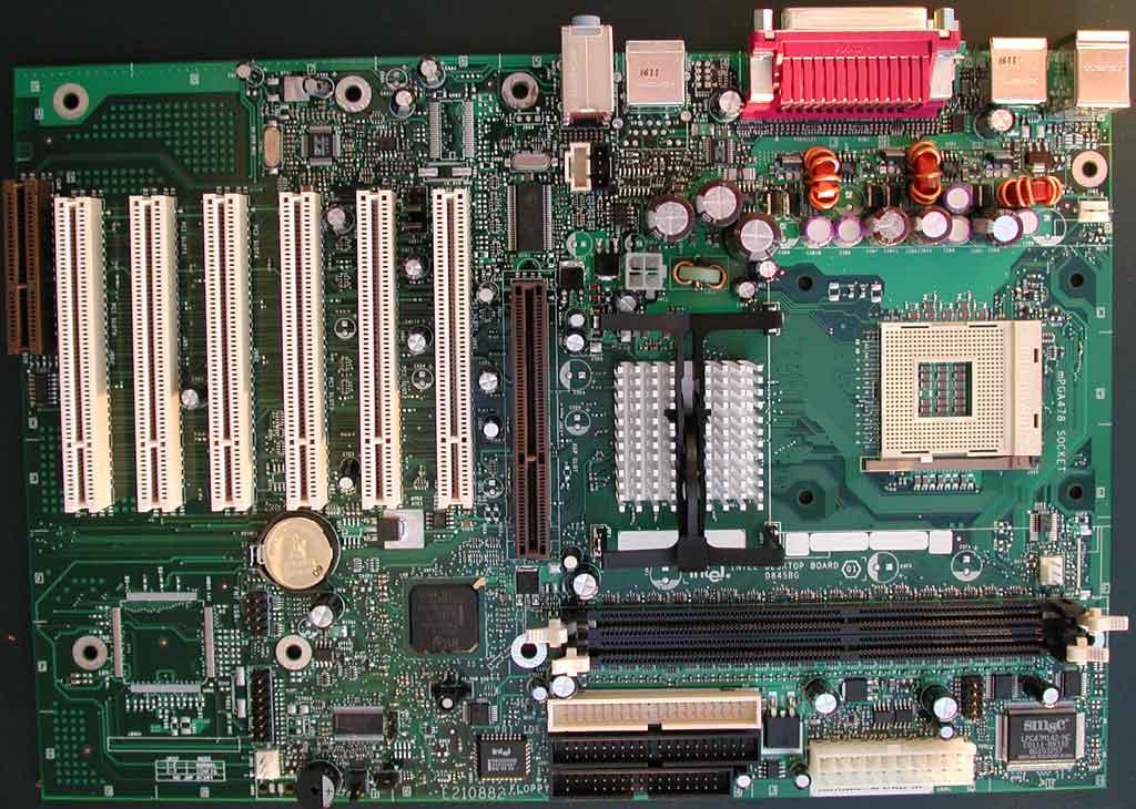 Intel D845BG - Intel 845 DDR Motherboard Roundup - December 2001