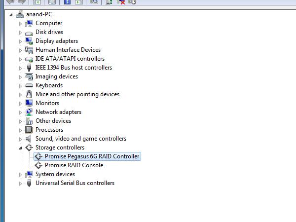 Hot Plug & Promise Pegasus, Now Supported Under Windows