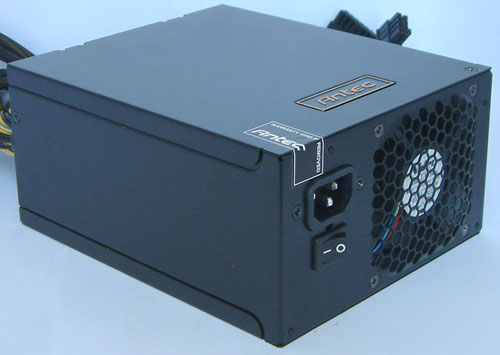 Packaging and Appearance - Antec Signature 650W Power Supply