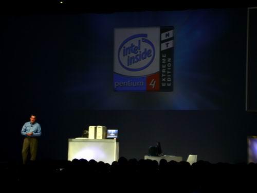 Intel Developer Forum Fall 2003 - Day 1: Introducing Pentium